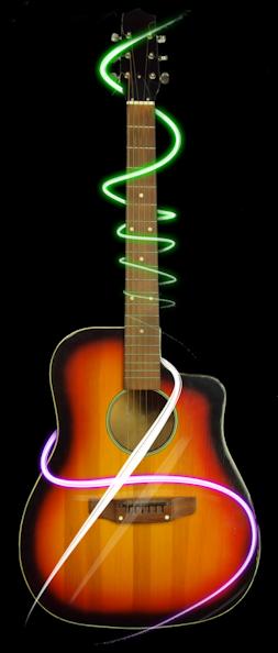 WSM guitar for logo
